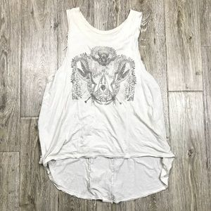 We The Free People Army Of Lovers Fringe Tank